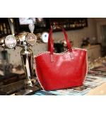 Handtasche schwarz oder rot
