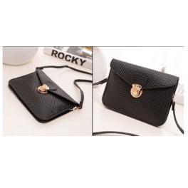 Mini Tasche schwarz/gold/silber