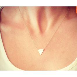 Kette gold Dreieck