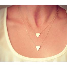Kette goldene Dreiecke