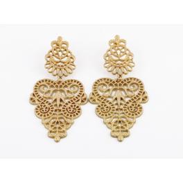 Vintage Ohrringe gold