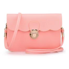 Kleine Handtasche Rosa Pastell