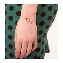 Armkettchen Handschellen gold