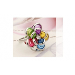 Blumen Ring multicolour