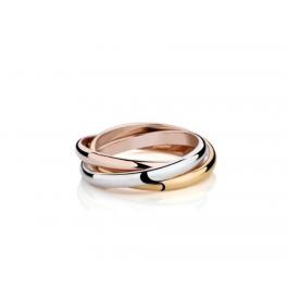 Dreifarbiger Ring
